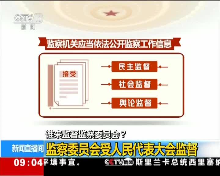[视频]谁来监督监察委员会?监察委员会受人民代表大会监督