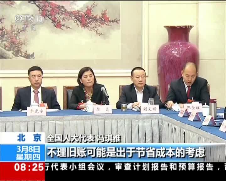 [视频]聚焦两会:人大代表审议《政府工作报告》