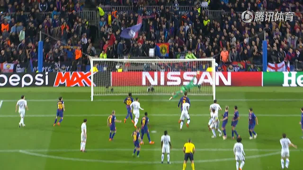 欧冠:巴萨总比分4-1淘汰切尔西 梅西2球1助攻