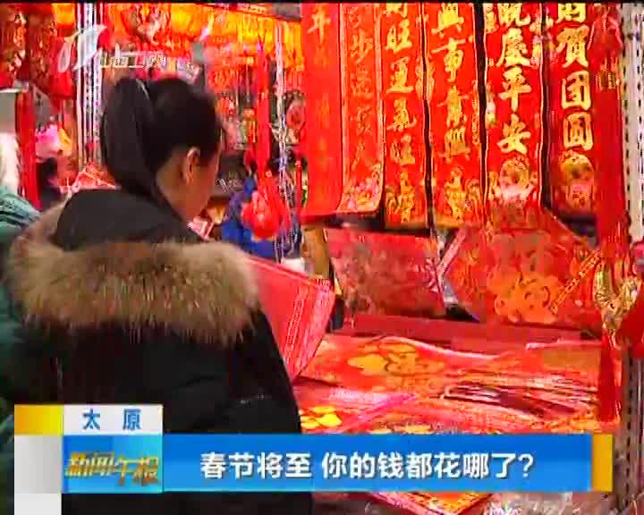 [视频]春节将至 你的钱都花哪了?