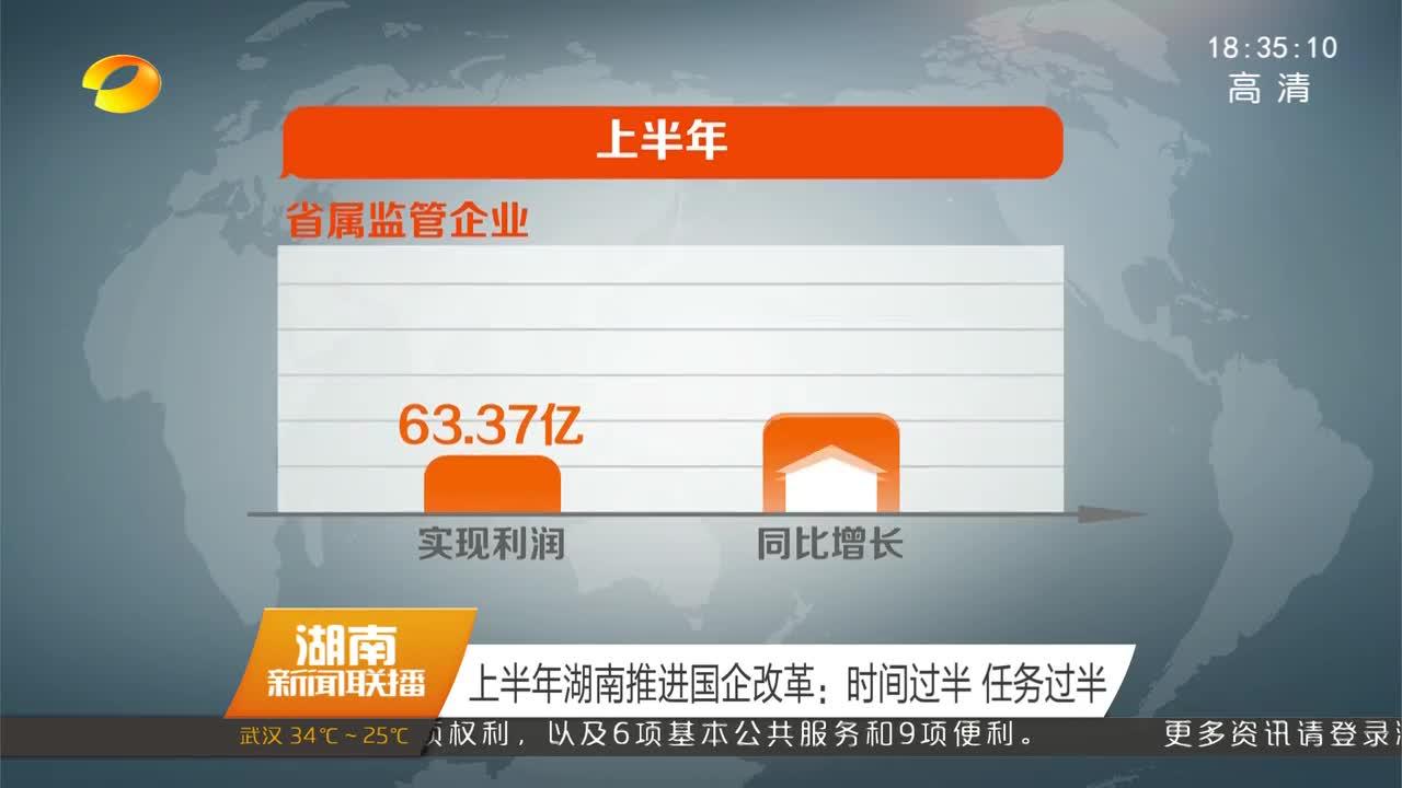 上半年湖南推进国企改革:时间过半 任务过半
