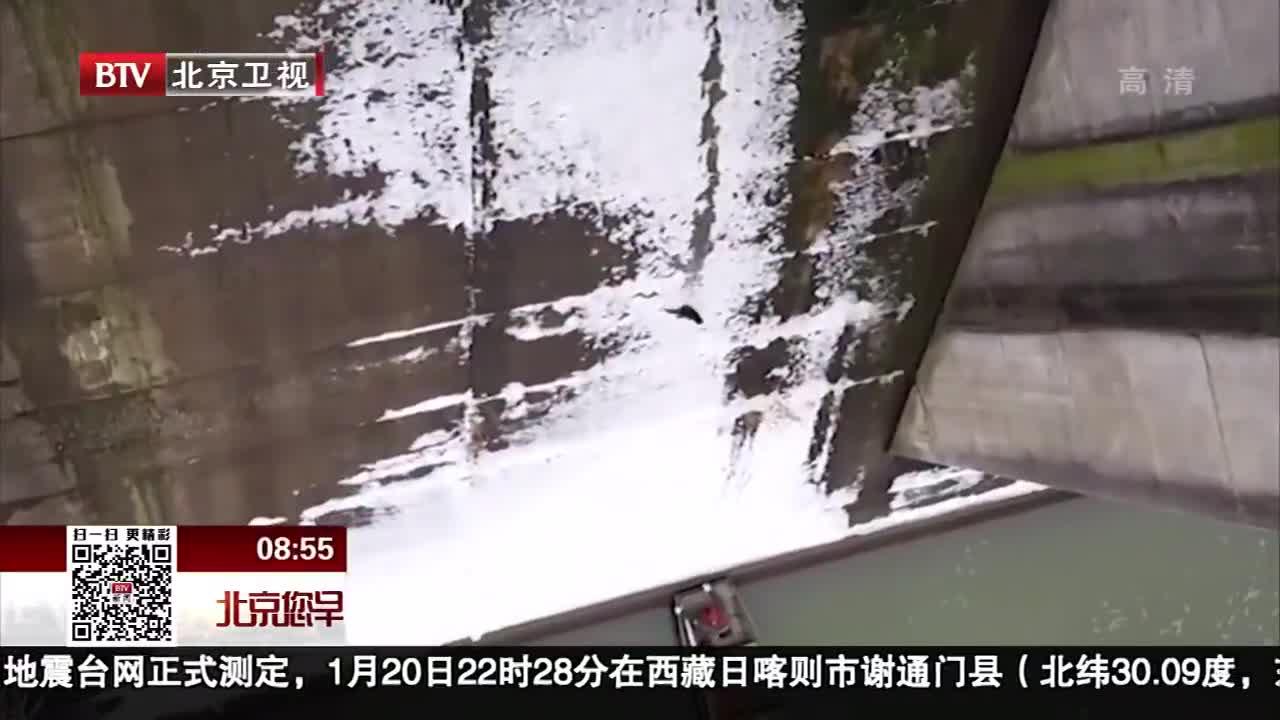[视频]暖心!美国救援人员水坝下救猫咪