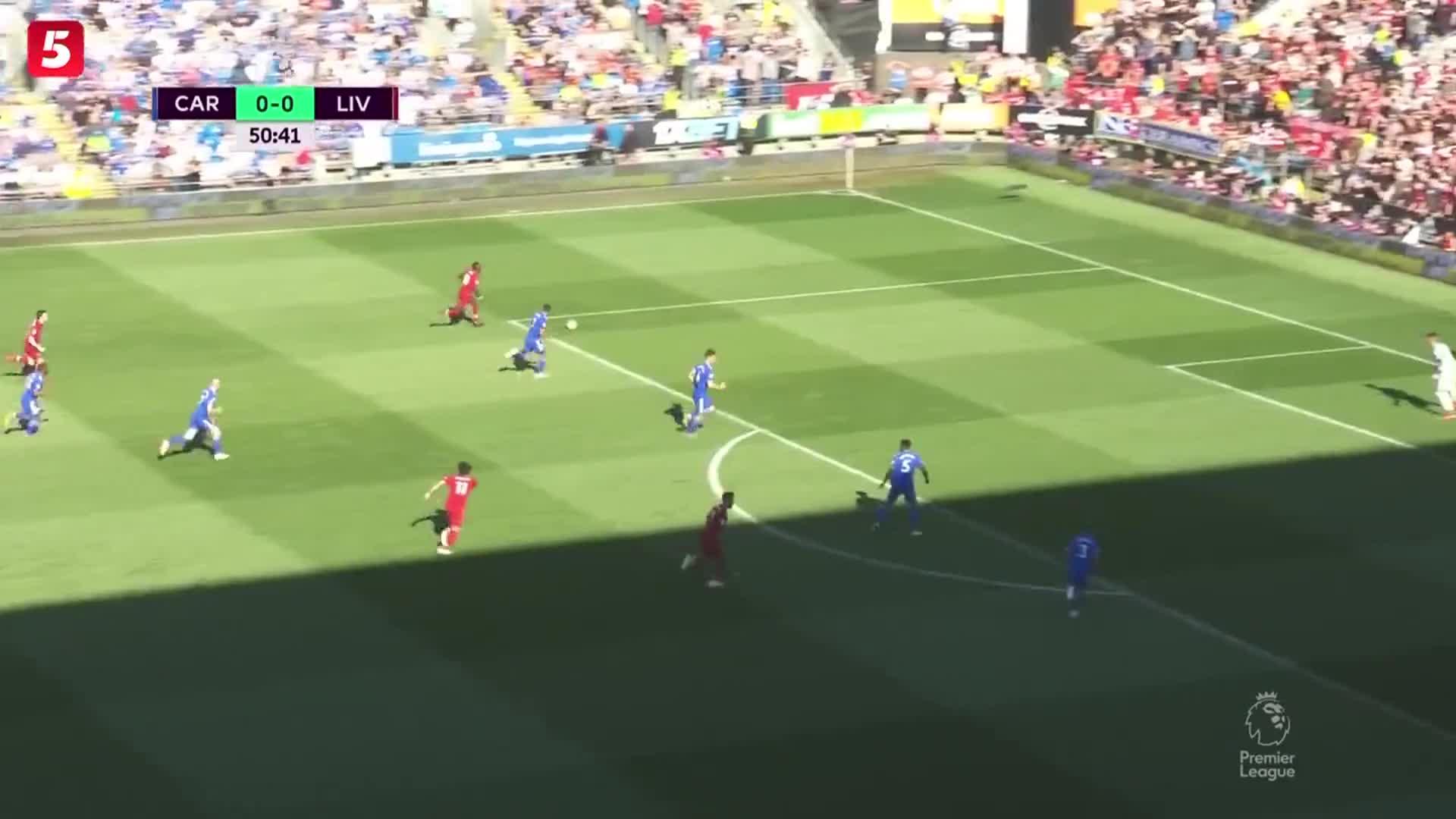 [视频]英超:利物浦2-0胜升至榜首 维纳尔杜姆破门米尔纳点射