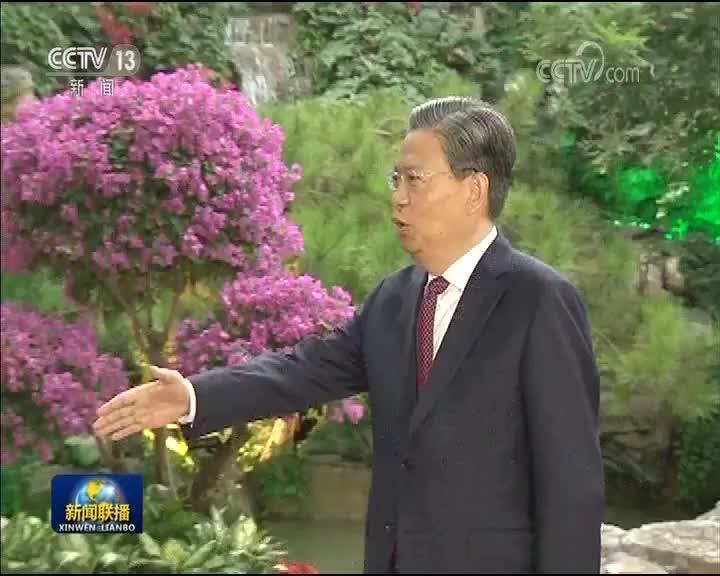 [视频]赵乐际会见安哥拉总统