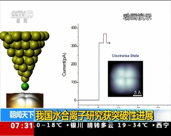 [视频]我国水合离子研究获突破性进展