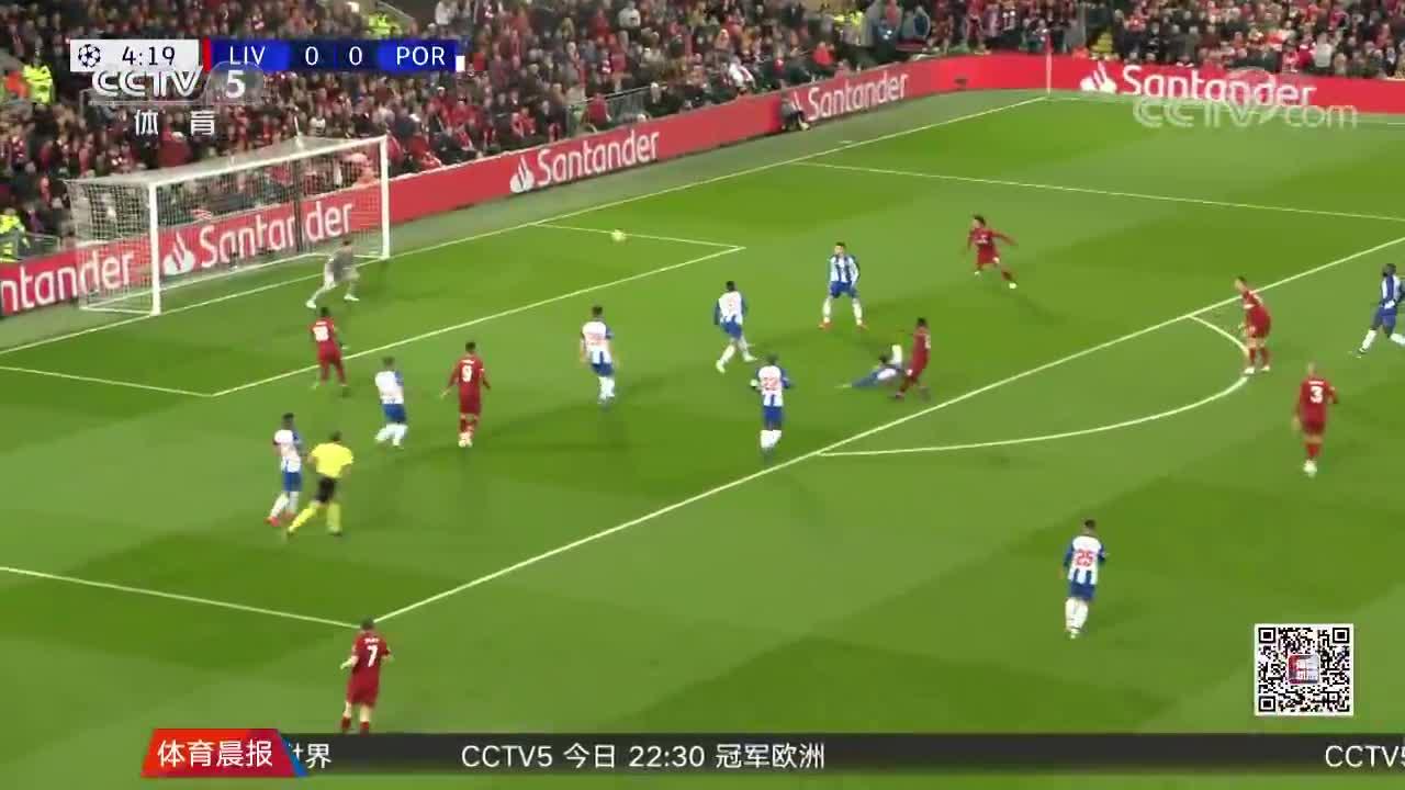 [视频]欧冠:利物浦2-0波尔图 凯塔菲尔米诺建功