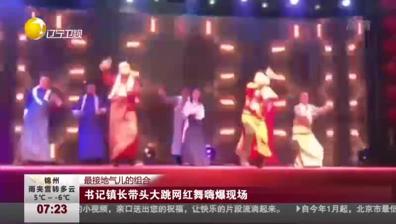 [视频]最接地气儿的组合:书记镇长带头大跳网红舞嗨爆现场