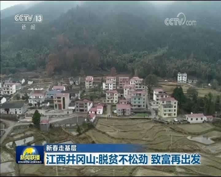 [视频]【新春走基层】江西井冈山:脱贫不松劲 致富再出发