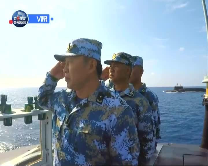 [视频]习近平检阅海上编队