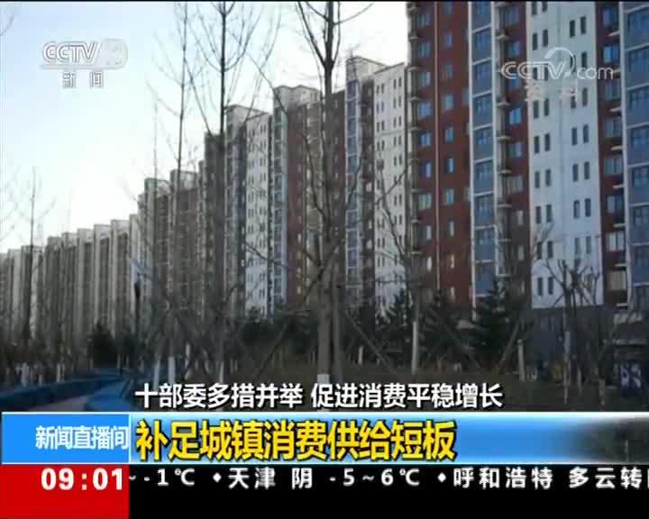 [视频]国家发改委等十部委 多措并举 促进消费平稳增长