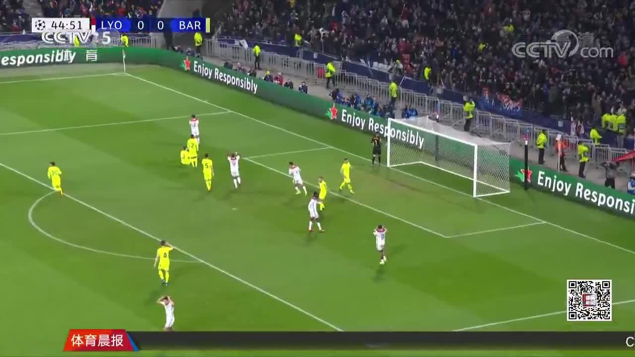 [视频]欧冠:横梁救险巴萨0-0战平 梅西苏亚雷斯遭零封