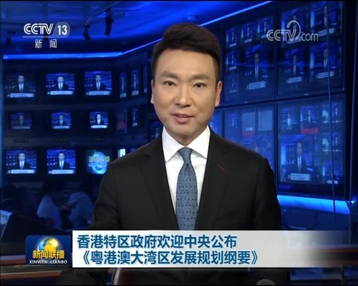 [视频]香港特区政府欢迎中央公布《粤港澳大湾区发展规划纲要》