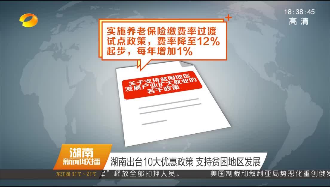 2018年04月10日湖南新闻联播