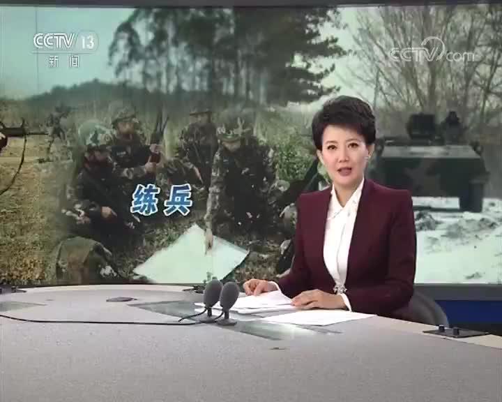 [视频]陆军 -20℃环境下装甲装备作战演练