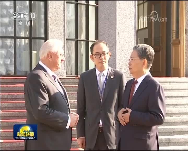 [视频]赵乐际对白俄罗斯进行正式友好访问