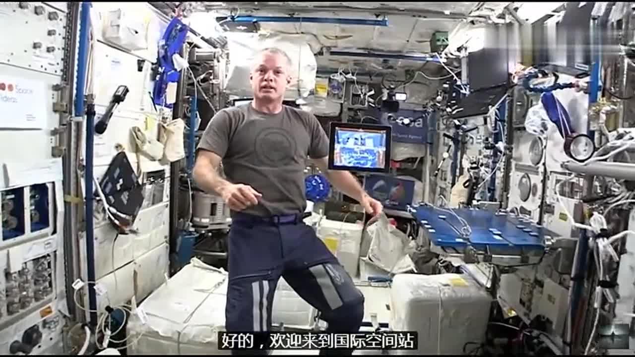 [视频]航空航天科技 带你欣赏一下太空舱内部构造