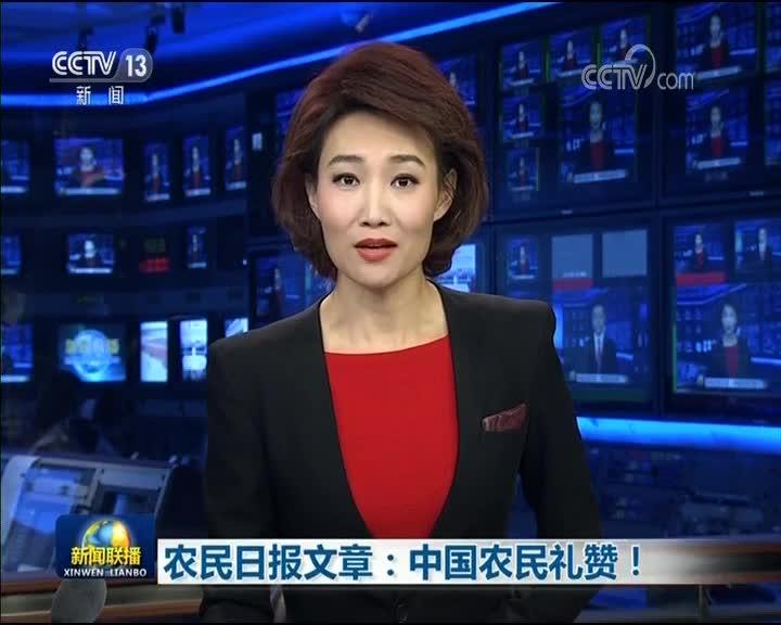 [视频]农民日报文章:中国农民礼赞!