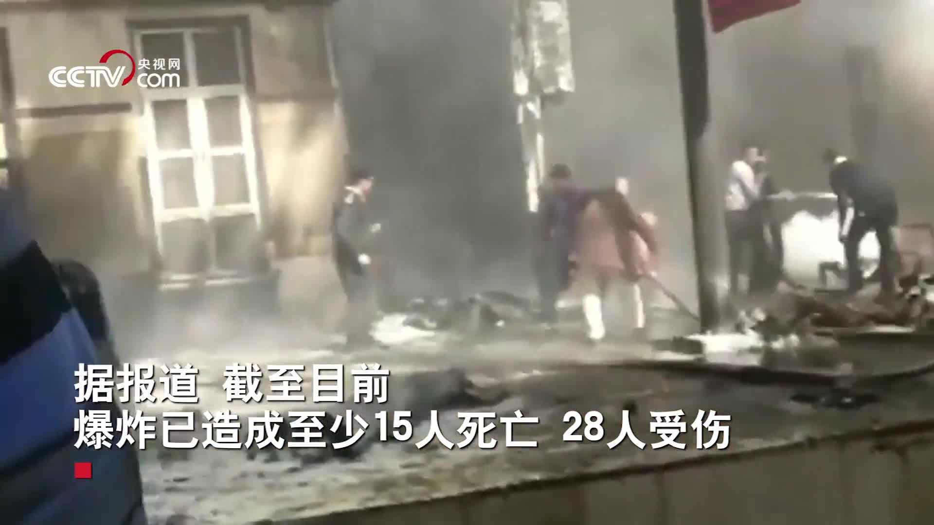 [视频]埃及开罗最大火车站发生爆炸 现场大火汹汹浓烟弥漫