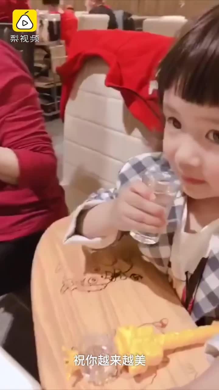 [视频]萌娃不想上幼儿园 喊海发泄又改口