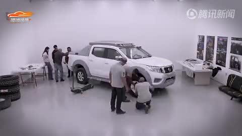 [视频]日产巴西打造了款救援用概念皮卡车