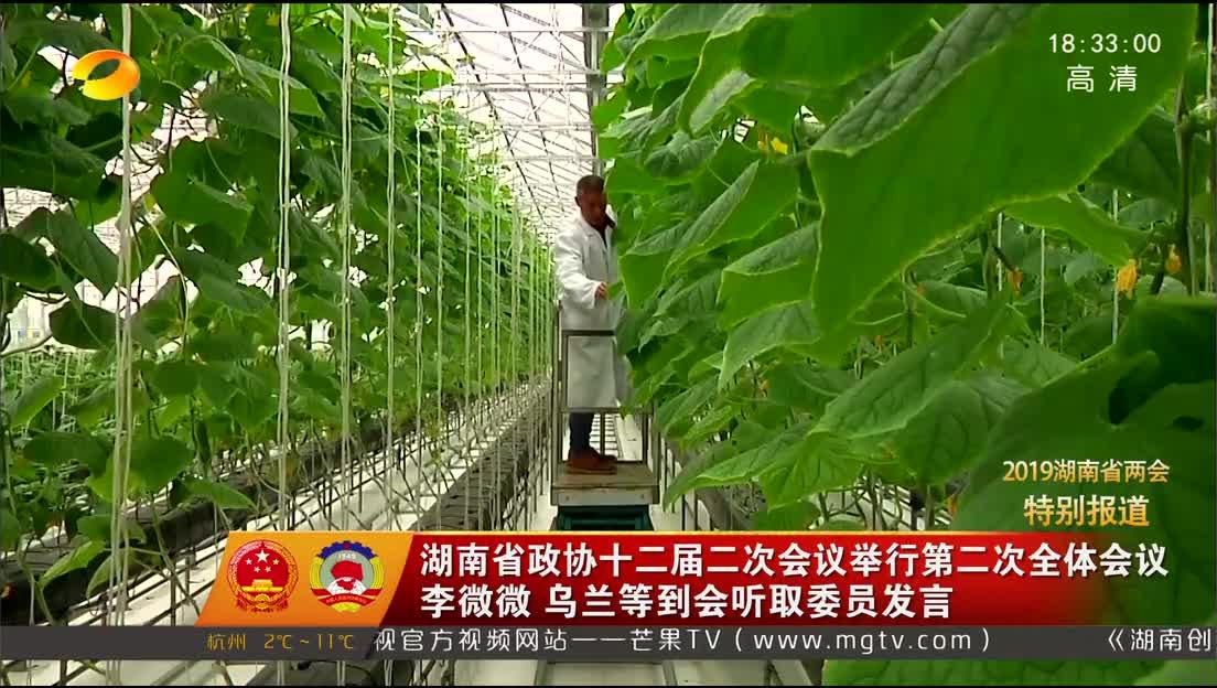 2019年01月27日湖南新闻联播