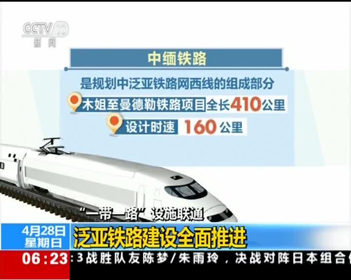 """[视频]""""一带一路""""设施联通 泛亚铁路建设全面推进"""