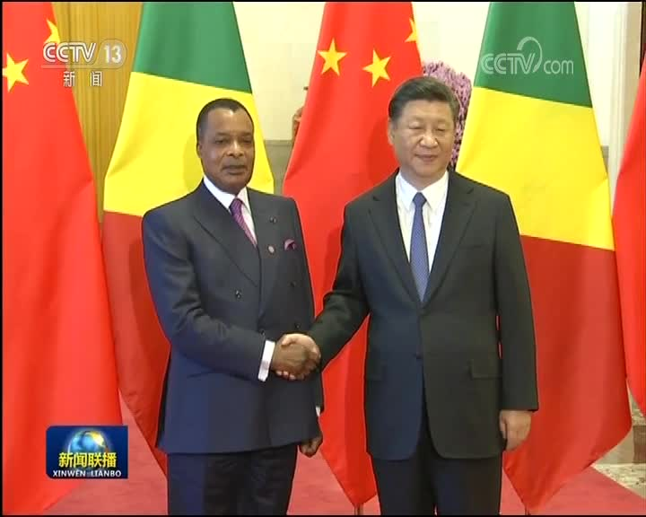 [视频]习近平举行仪式欢迎刚果共和国总统访华