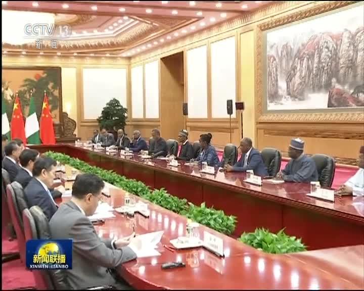 [视频]习近平会见尼日利亚总统