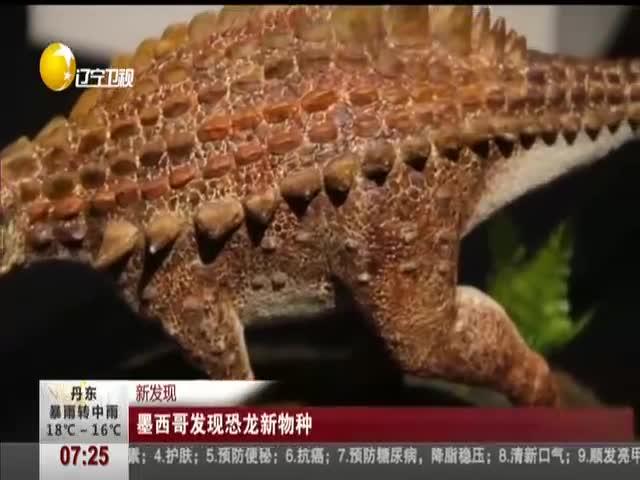 [视频]新发现:墨西哥发现恐龙新物种