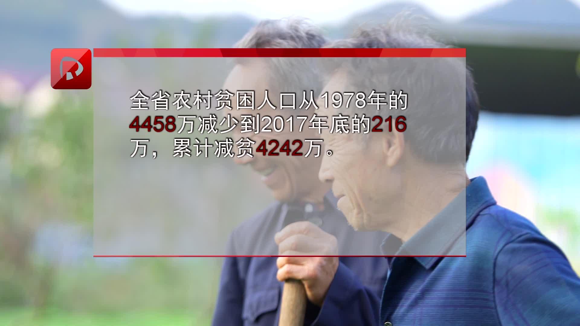 改革开放40年:湖南农村居民人均可支配收入由百进万元