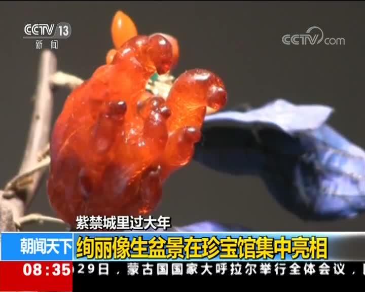 [视频]紫禁城里过大年 故宫珍宝馆钟表馆春节全新开放