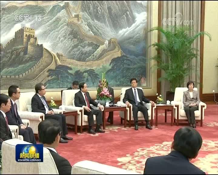 [视频]栗战书会见越南祖国阵线中央主席