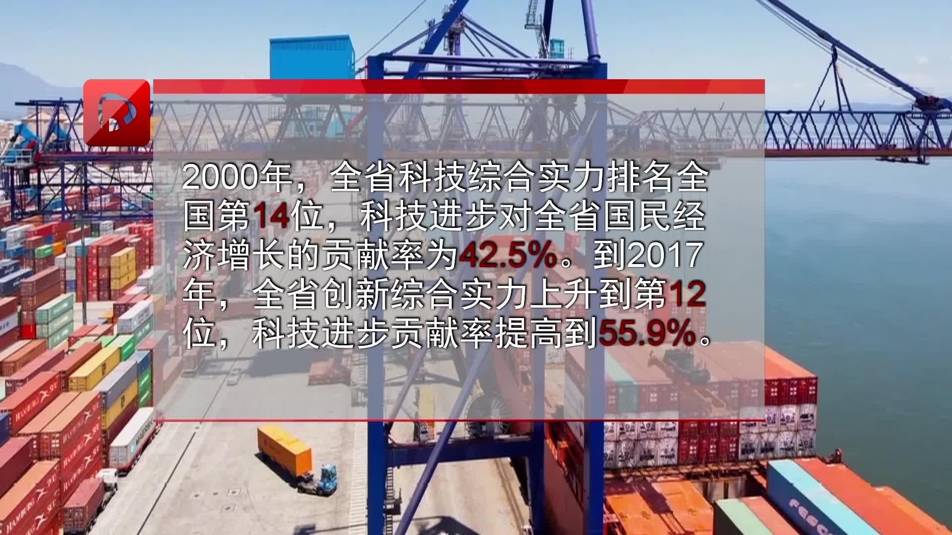 改革开放40年:我省高新技术产业实现增加值8120亿元