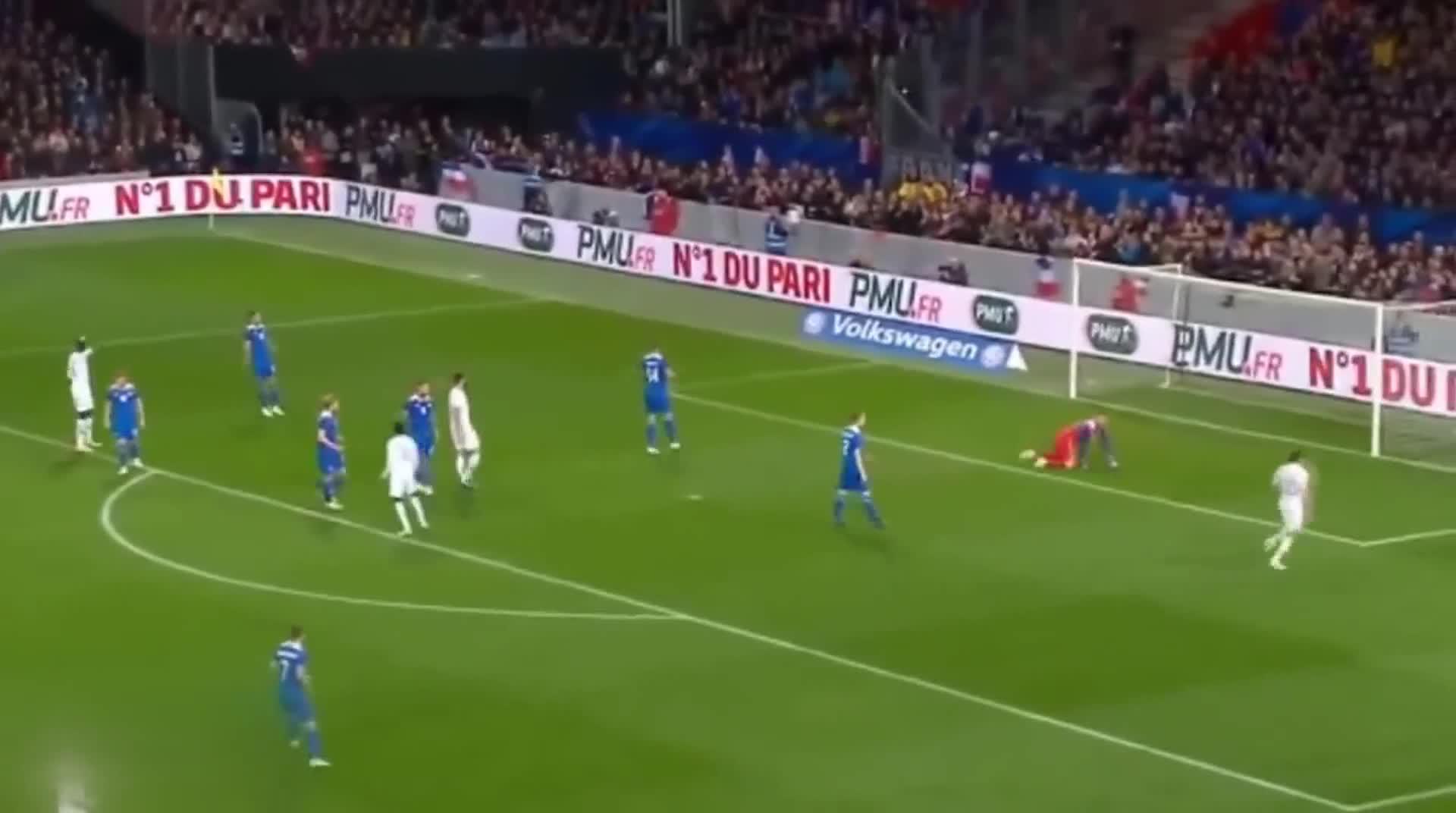 [视频]热身赛:法国两球落后2-2追平冰岛 姆巴佩点球绝平