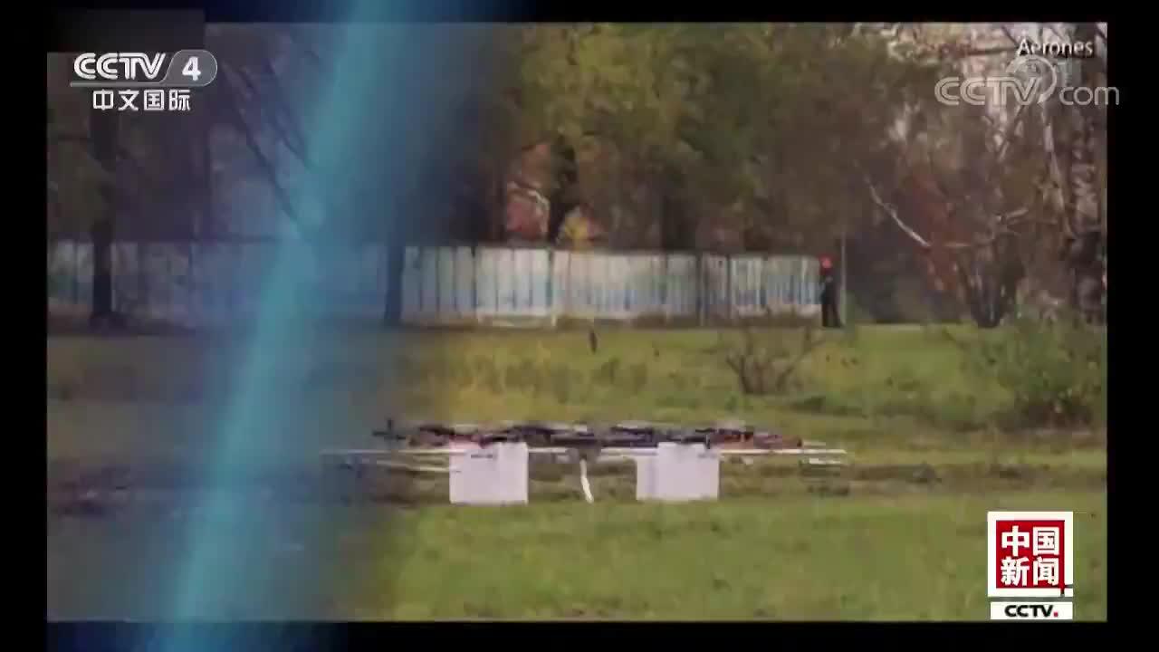 [视频]无人机可高空喷水 还能火灾救援