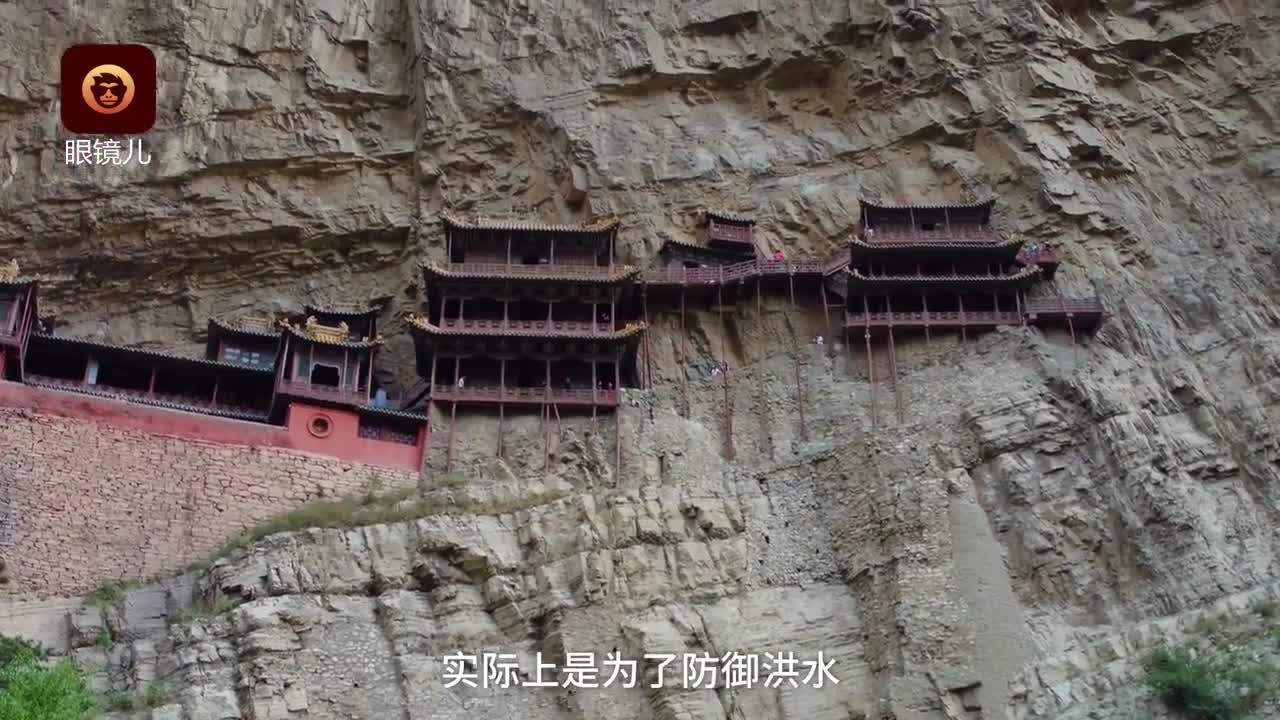 [视频]被遗忘的奇迹:离地75米的悬空寺