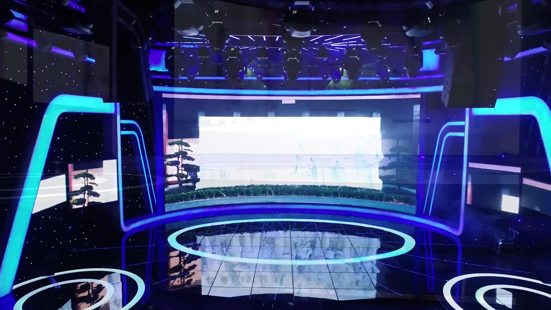 助力红视频战略建设 红网高清演播中心全新升级亮相