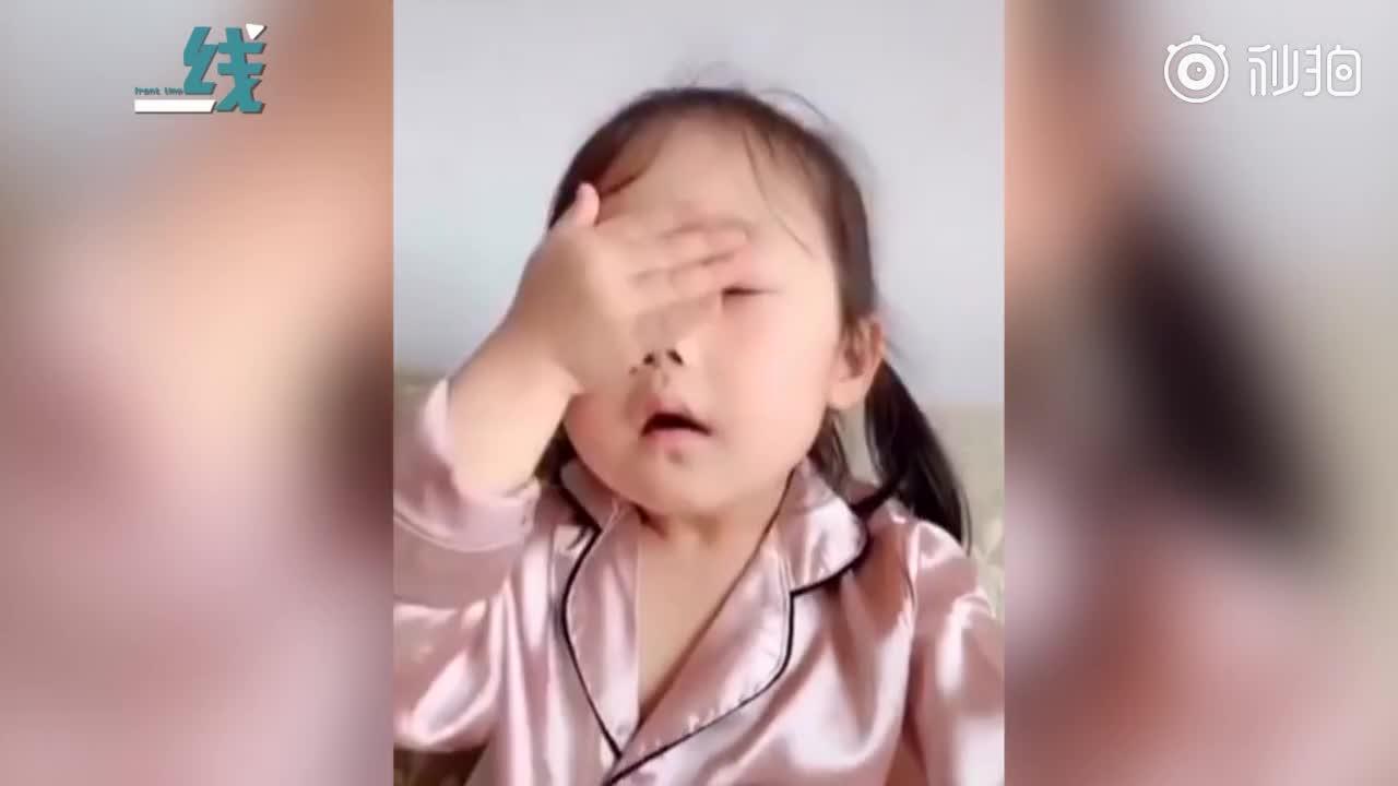 [视频]萌娃不吃药惹恼大人后反劝:小孩不听话你不能急 得哄着知道吧?