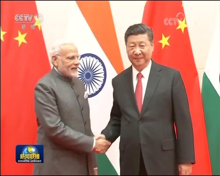 [视频]习近平会见印度总理