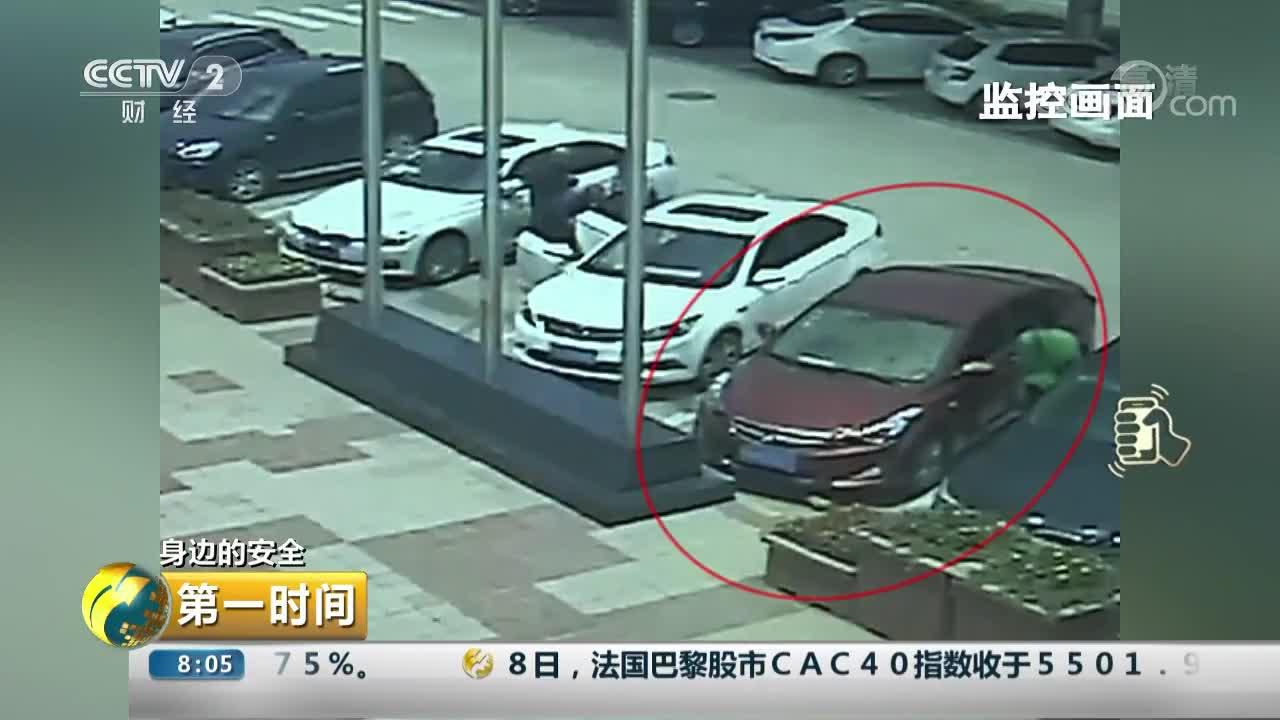 [视频]身边的安全:干扰器干扰锁车 团伙高速服务区行窃