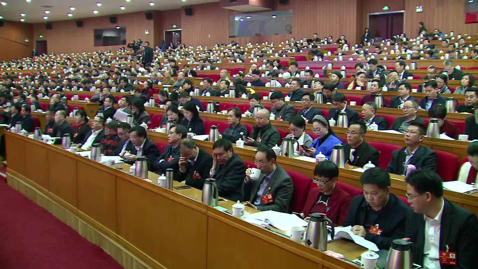 【全程回放】政协湖南省第十二届委员会第二次会议第二次大会(下)