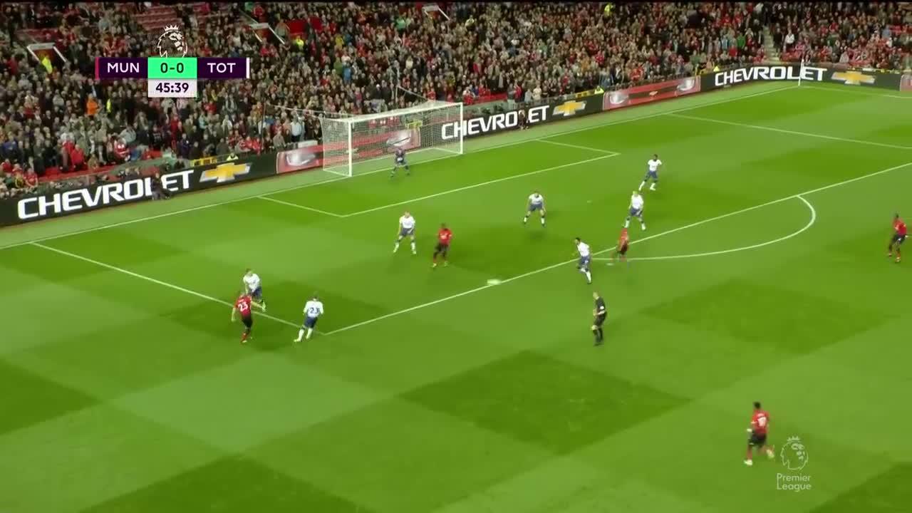 [视频]英超:曼联0-3负热刺两连败 凯恩小卢卡斯三分钟闪电两球