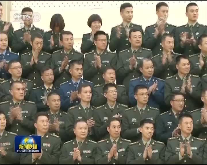 [视频]汪洋慰问宁夏军区和驻宁部队官兵代表 武警宁夏总队官兵代表并会见政法系统代表