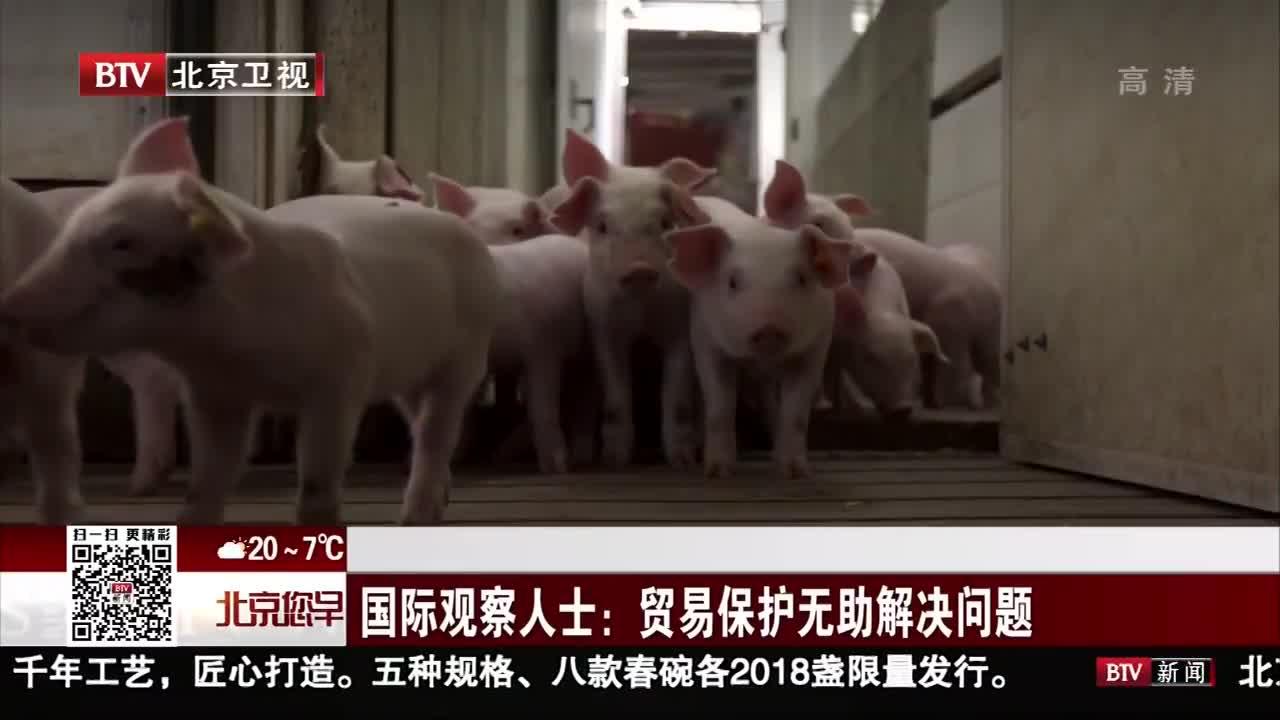 [视频]国际观察人士:贸易保护无助解决问题