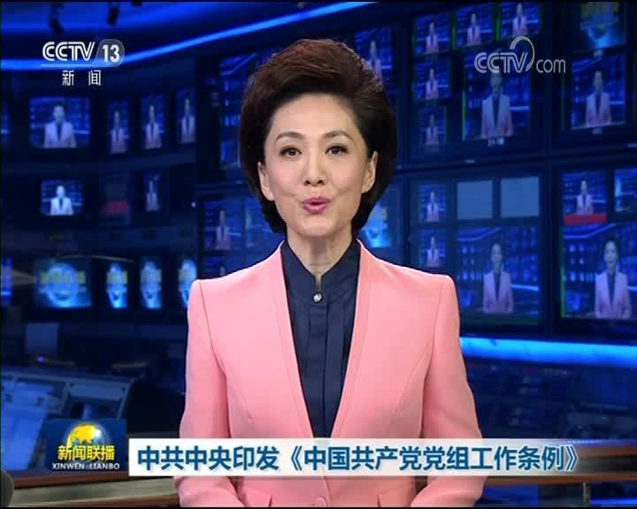 [视频]中共中央印发《中国共产党党组工作条例》