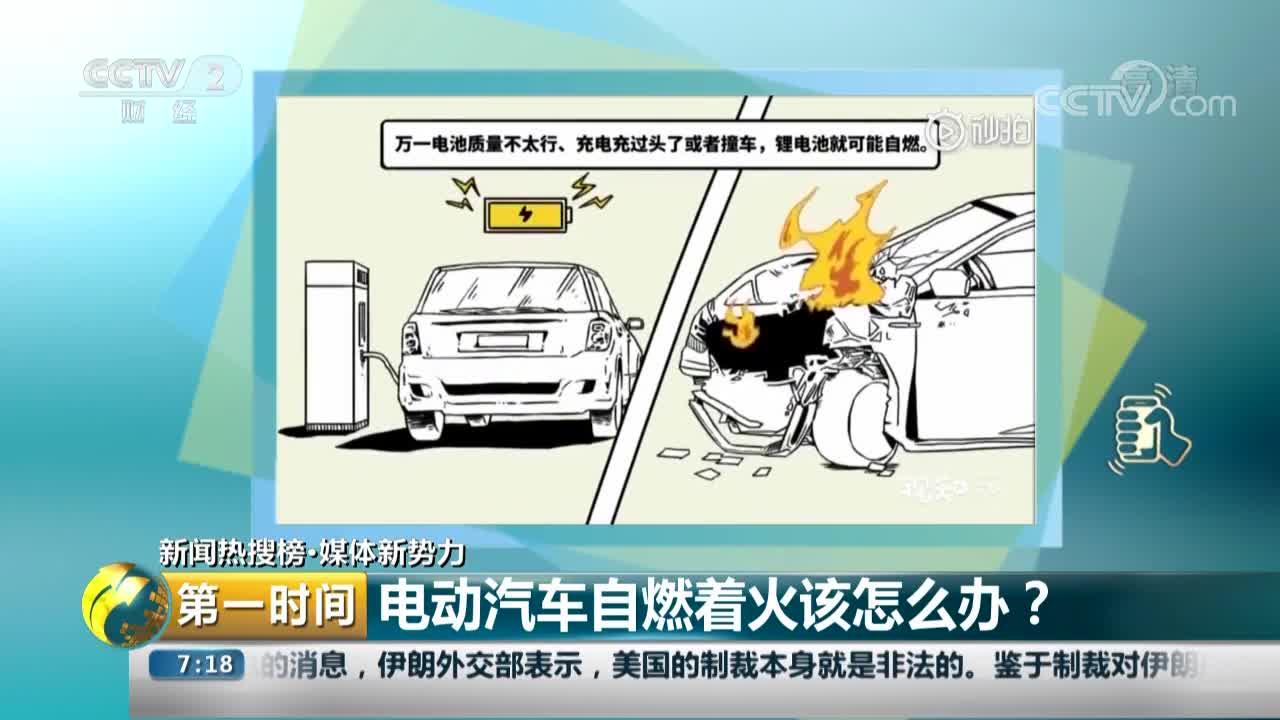 [视频]电动汽车自燃着火该怎么办?