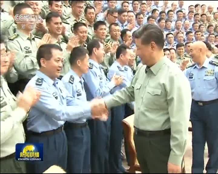 [视频]习近平在视察南部战区时强调 加快推进战区指挥能力建设 坚决完成担负的使命任务