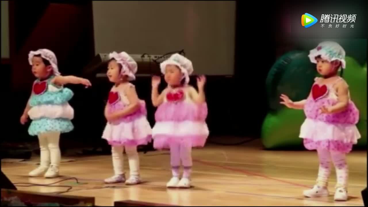 [视频]宝宝边表演边哭:自己选的舞哭着也要跳完!