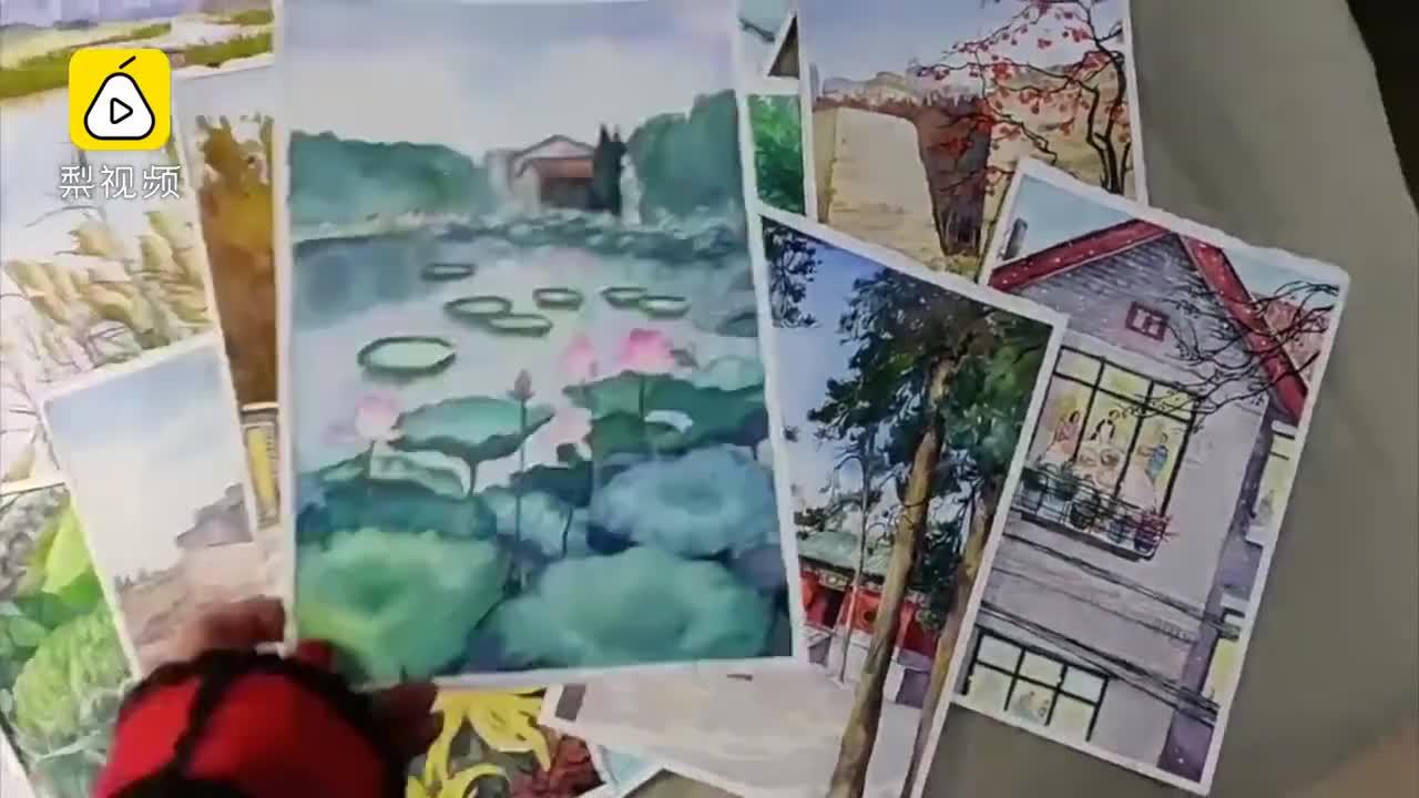 [视频]80后插画师把郑州画进24节气 留住城市人情味 留住一代人回忆