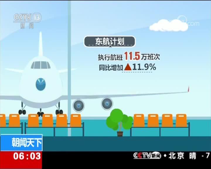 [视频]2019年春运正式开启 航空公司增加航班应对客流增加